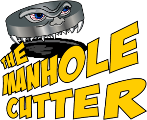 man hole cutter logo